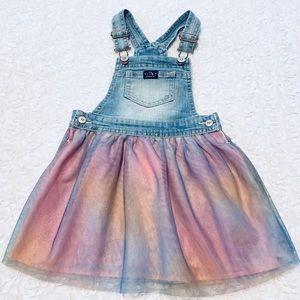 💙Jordache- Little girls overall dress💙